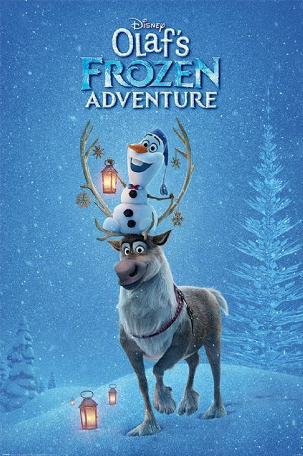 Olaf's Frozen Adventure 61x91,5cm Movie Posters